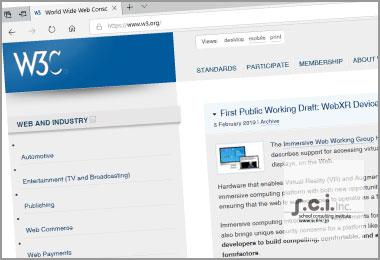 w3c web report w3c org