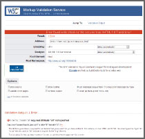 w3c web report red