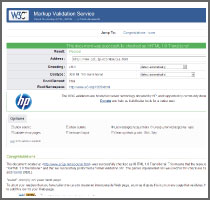 w3c web report green