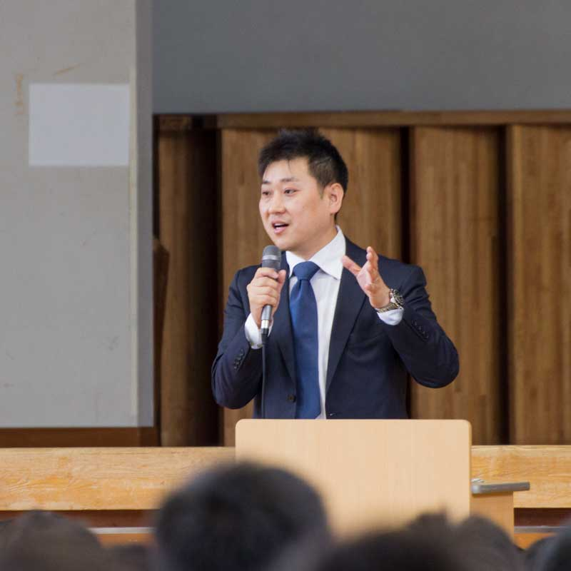 小川明広 キャリア教育・講演サービス