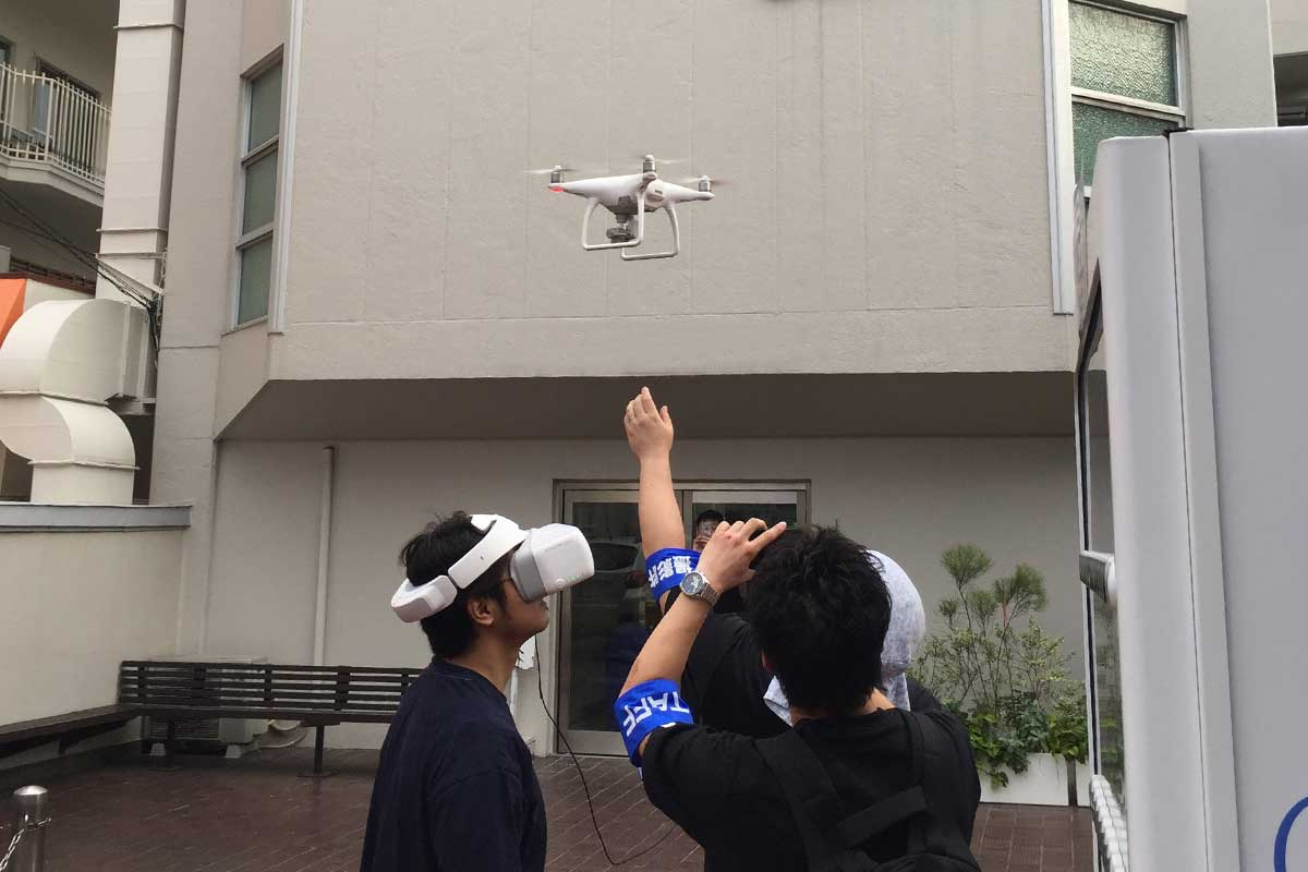 記念式典企画・演出サービス ドローンによる空撮 2017年